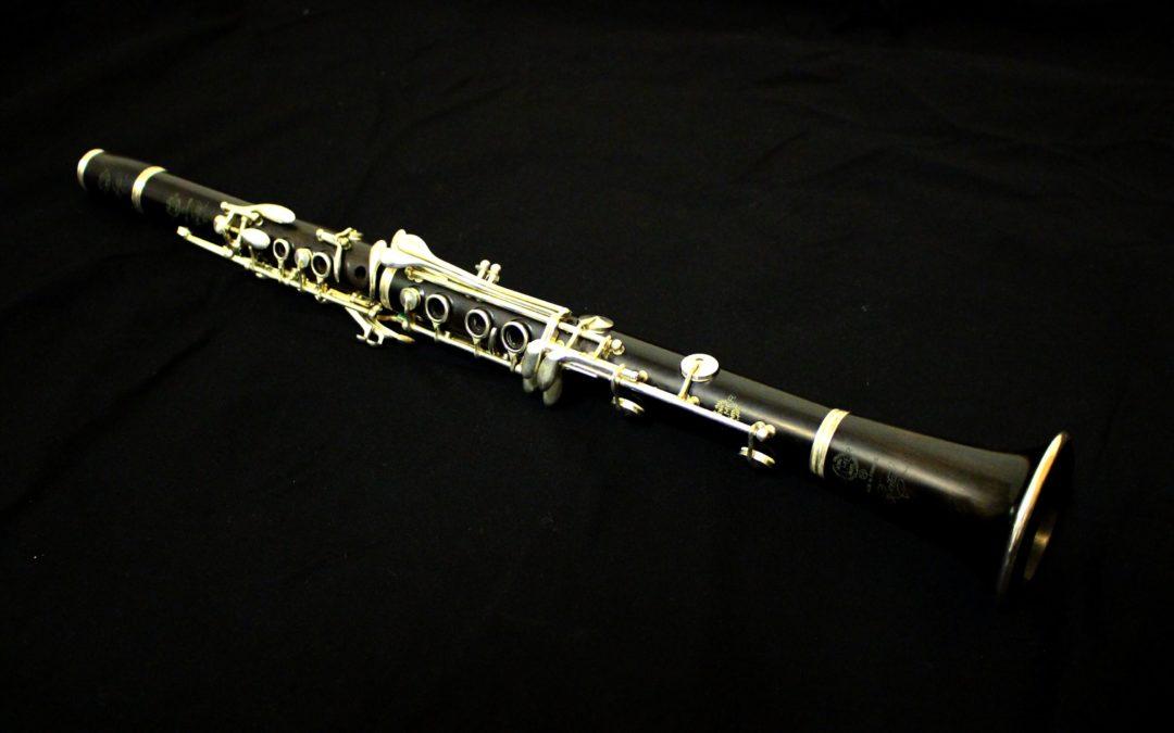 Clarinette en La Selmer récital n° F8430